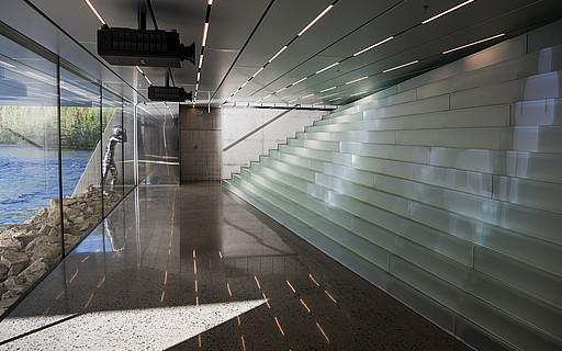Glastreppen siller treppen for Case particolari interni