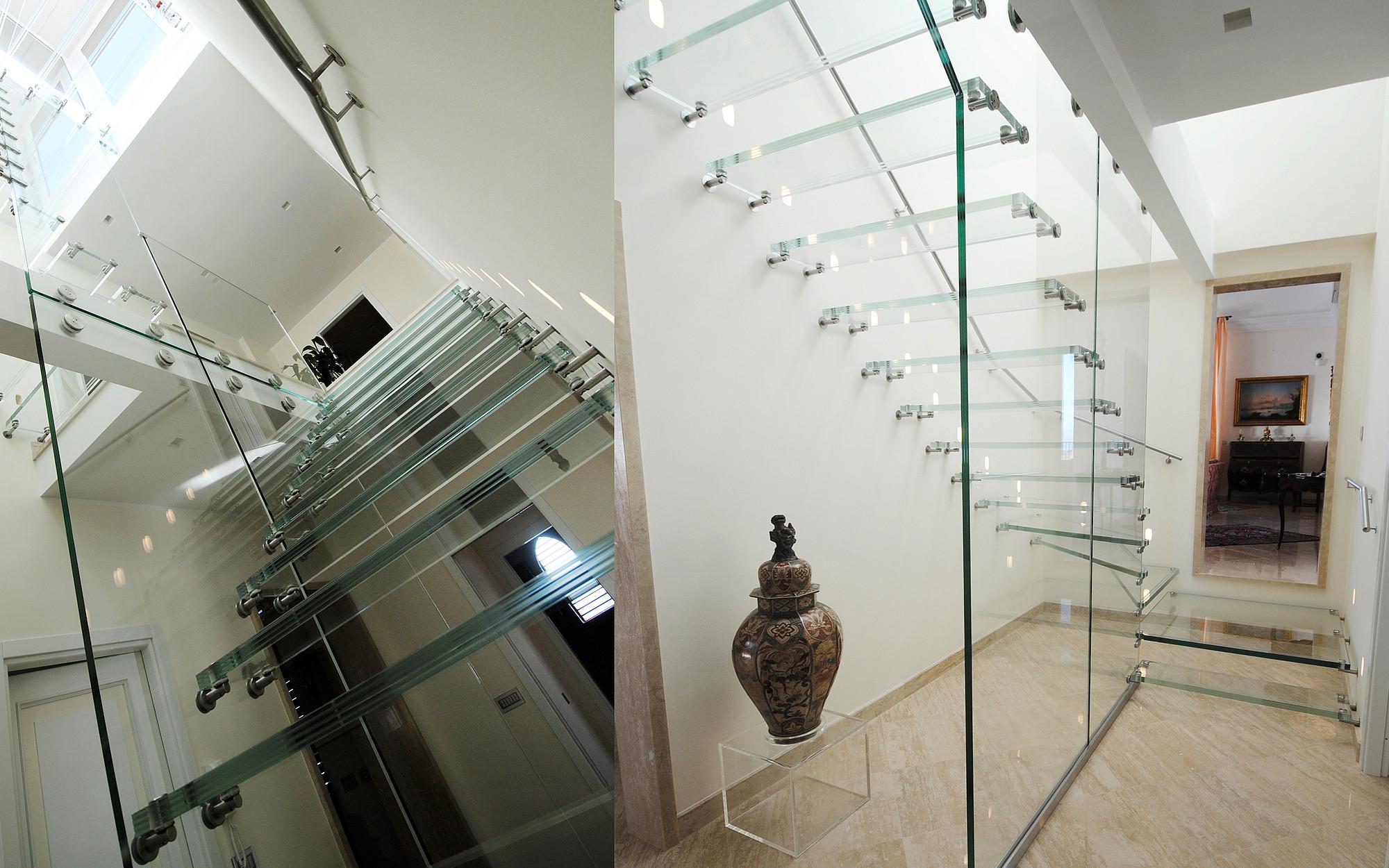 Beliebt Treppe mit Glaswand - Siller Treppen KB37