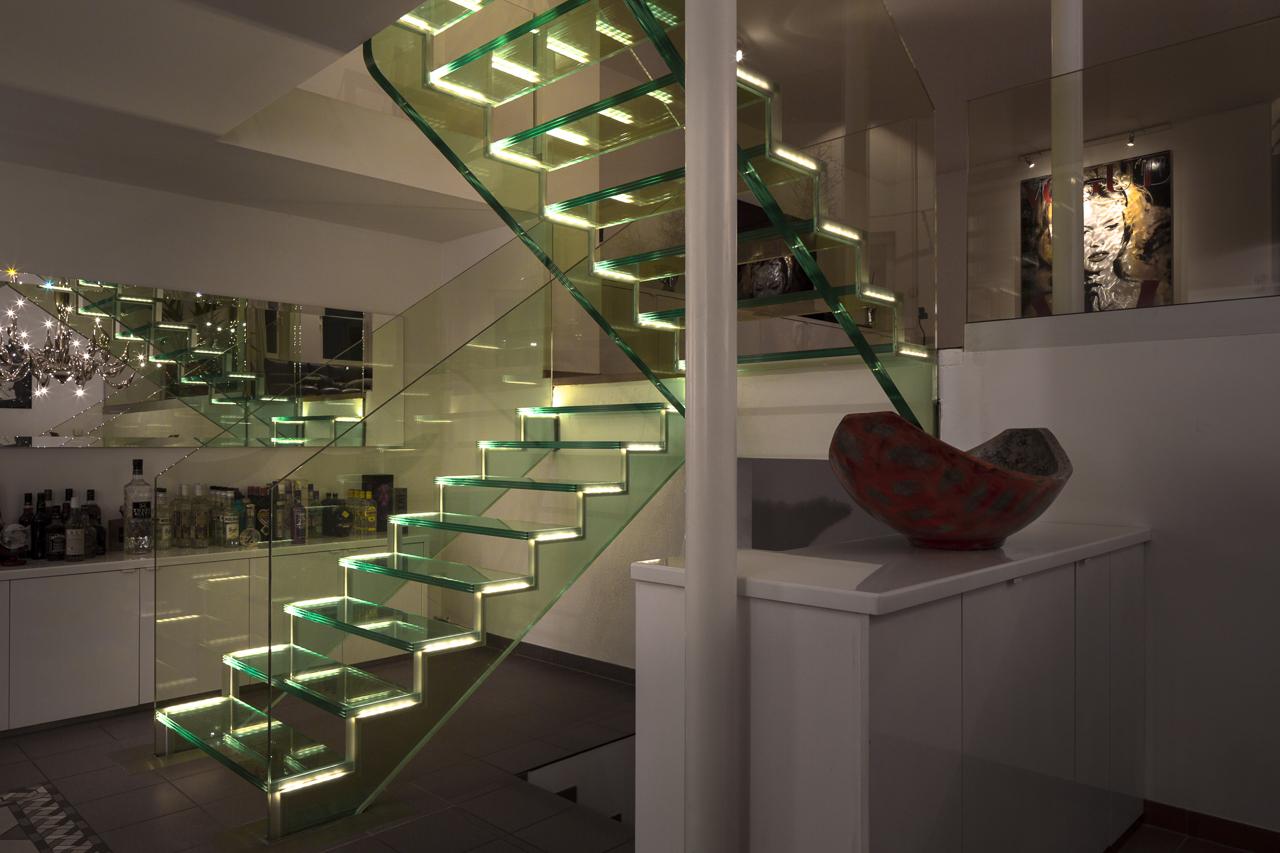 Schön Schwebende Treppe Sammlung Von